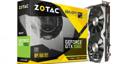Zotac GeForce GTX 1060 1556 Mhz 6GB