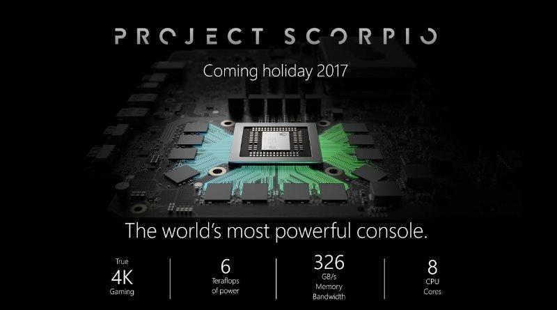 Xbox Scorpio - technische Daten und Xbox 360