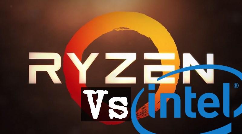 Ryzen CPU vs Intel-Prozessor